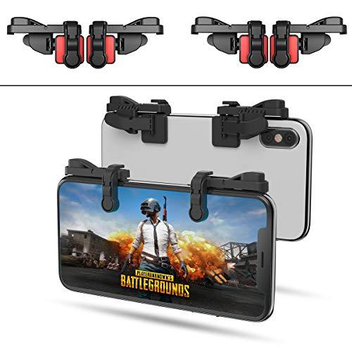 【2 Paar】 Handy Mobile Game Controller Tragbar Gaming Gamepad...