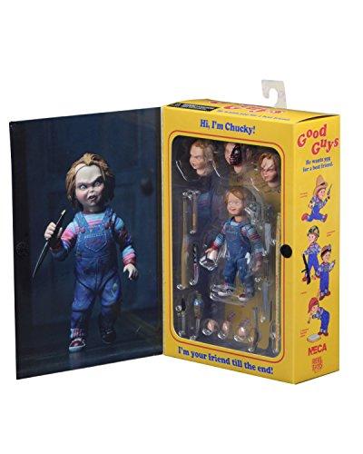 NECA 42112 Actionfigur Chucky Ed. Ultimate 10Cm, Mehrfarbig