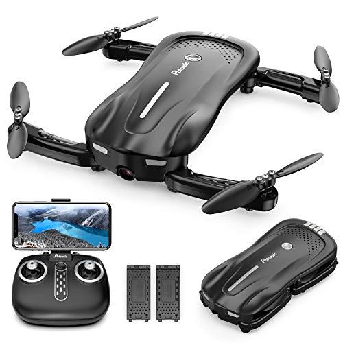 Potensic Faltbare Drohne mit Kamera, 1080P Mini Drohne WiFi FPV...