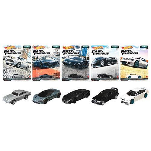 Hot Wheels Fast & Furious Euro Fast Premium Set 5 Modellautos...
