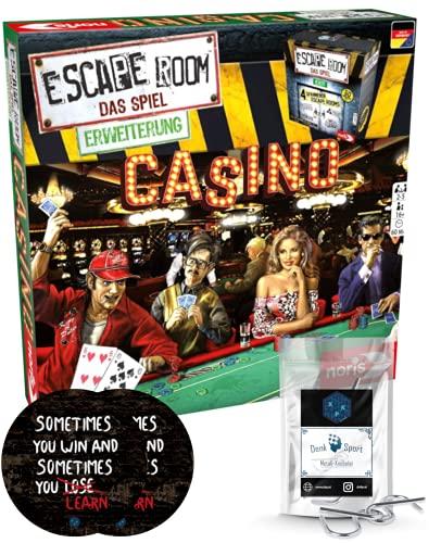 Escape Room Erweiterung Casino - Familien und Gesellschaftsspiel...