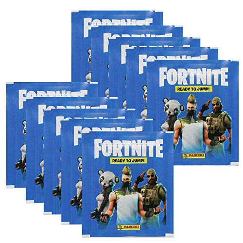 Panini Fortnite Sticker 10 Tüten