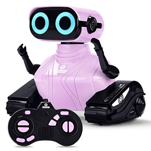 ALLCELE Roboter Kinder Spielzeug Mädchen, RC Roboter Spielzeug...