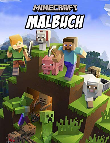 Minecraft Malbuch: Creative Coloring Book For Everyone To Enjoy...