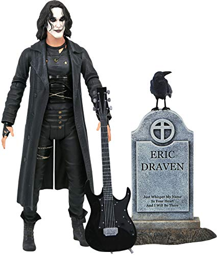 Diamond Select The Crow Deluxe Action-Figuren, 17 cm, Mehrfarbig