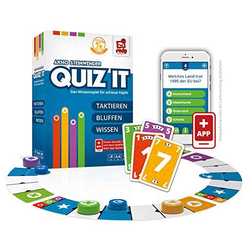Rudy Games Quiz it - Interaktives Quiz-Spiel mit App – Fragen...