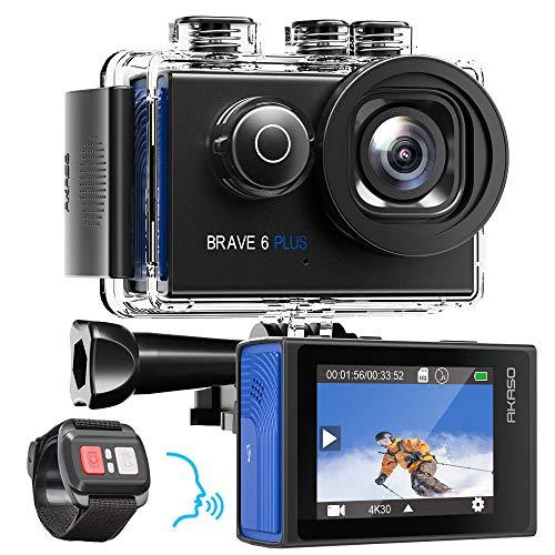 AKASO Action Cam Natives 4K 20MP Action Kamera WiFi 40M...