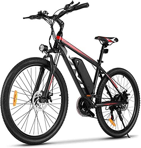 VIVI Ebike Mountainbike, 26 Zoll Elektrofahrrad Pedelec, 350W E...