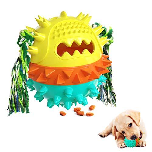 Zahnpflege-Ball, Hundespielzeug Kauen und Beißen, Hundespielzeug...