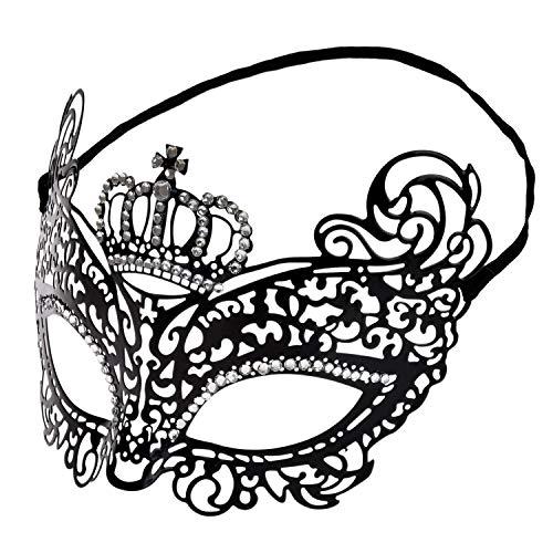 Lelengder Masquerade [ Metall venezianischen ] [ Strassbesetzung...