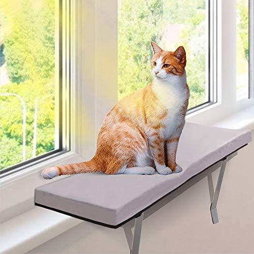 MASTERTOP Katzen Fensterplatz -Window Katzen Hängematte Für...