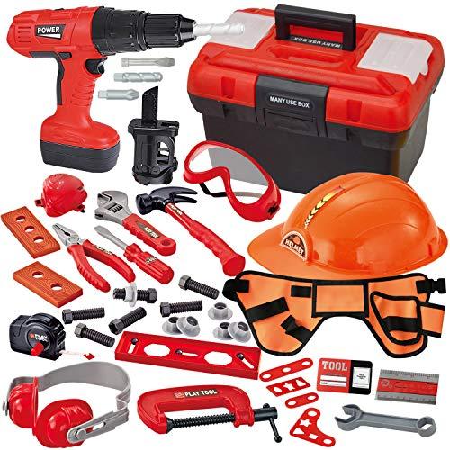 JOYIN 40-teiliges Werkzeugkoffer, Kinder Werkzeug Set...