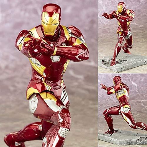 Ldwxxx ArtFX Kotobukiya Captain America Civil War Iron Man Mark lose Abbildung Spielzeug...