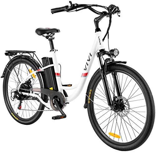 E-Bike Elektrofahrrad, 26 Zoll E Bike Damen Herren 350W E Fahrrad...