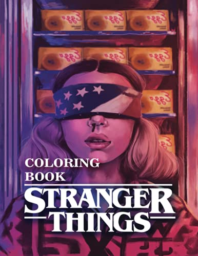 New Stranger Things Coloring Book : Stranger Things Gift For Kids...