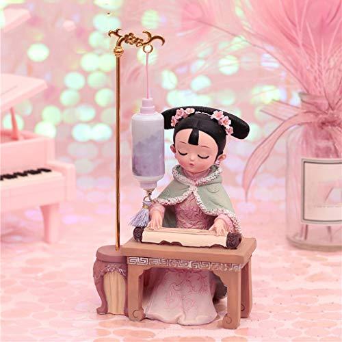 OMYLFQ Statuen Puppet Ornaments Kleine Geschenke mit chinesischen...