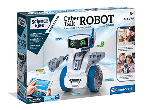 Clementoni 52415 Wissenschaft und Robotics – Cyber Talk Roboter...