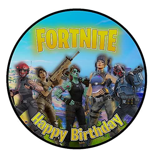 Tortenaufleger Geburtstag for_tnite Gamer Spiele Fan Motiv...
