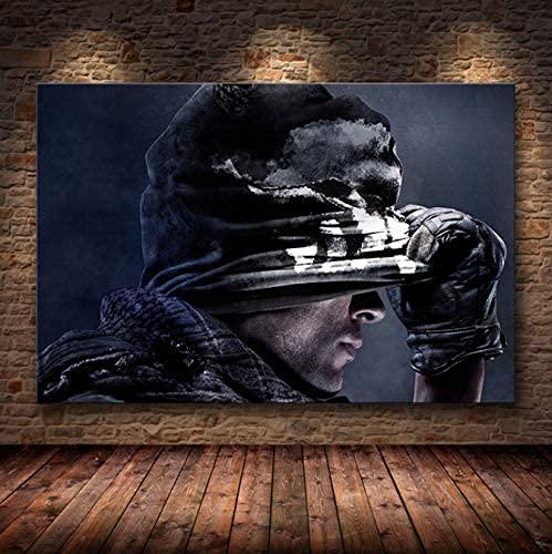 Simayi Call of Duty Leinwand Wandkunst Poster Und Leinwanddruck...