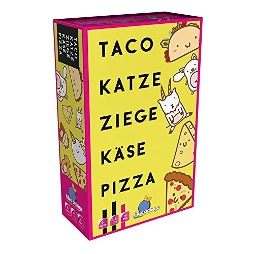 Asmodee BLOD0074 Blue Orange Taco Katze Ziege Käse Pizza,...