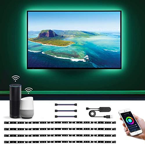 LE Smart LED Strip 2M, TV Hintergrundbeleuchtung, Wifi RGB LED...