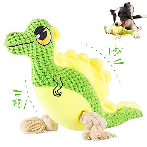 SUNGUY Quietschendes Hundespielzeug, Plüsch-Hundespielzeug mit...