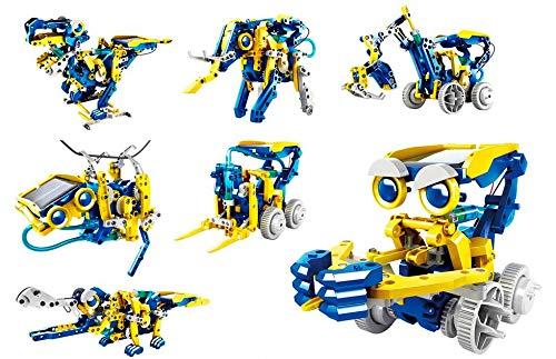 Juguetecnic Multibots Solar-Roboter-Set | Sie können 11...