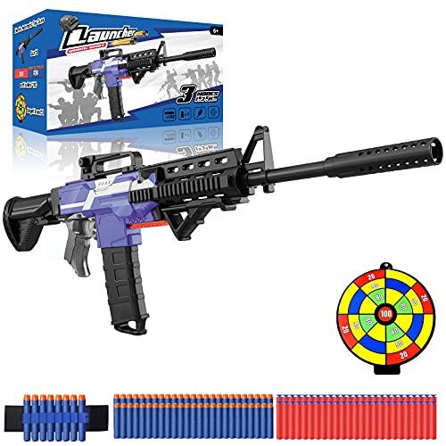 Elektrische Spielzeug Pistole für Nerf Pfeile, Automatische M416...