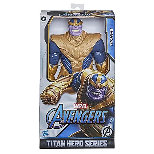 Hasbro Marvel Avengers Titan Hero Serie Blast Gear Deluxe Thanos...