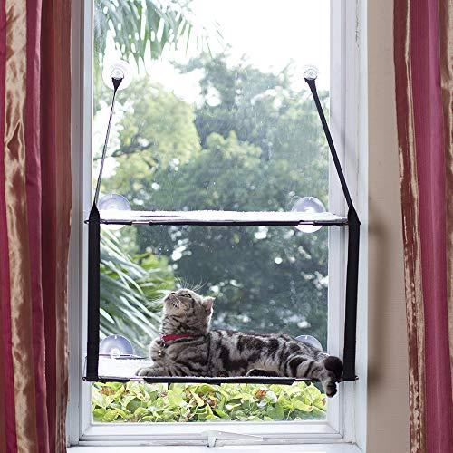 L.S Katzen Hängematten Fensterplatz Fenster Betten Katzenbett...
