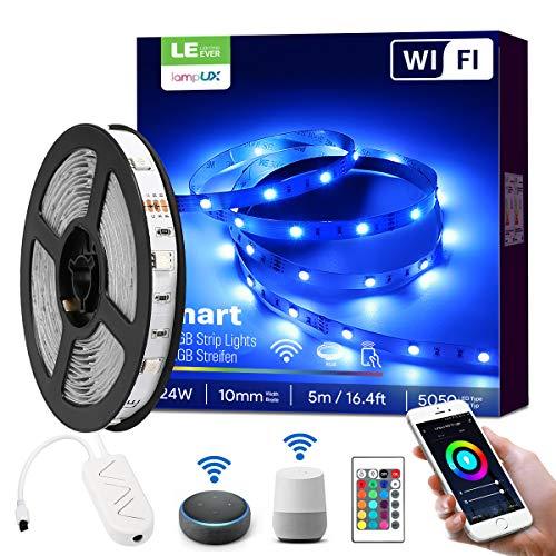 LE Smart LED Strip 5M, RGB LED Streifen Wifi, Wlan LED Band,...