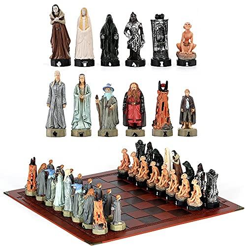 Yanyan Schachset Historische Figuren Thema Schach Bemalt Schach...