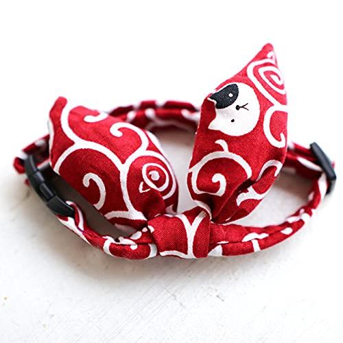 Katzenhalsband, Schleife, Katzenhalsband für Katzen und kleine...