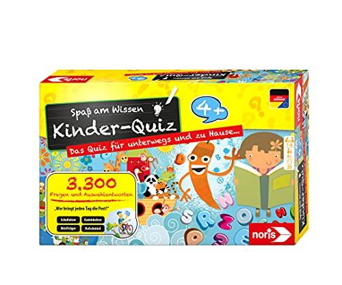 Noris 606013595 Kinder-Quiz – Quizspiel mit 3300 Fragen und...