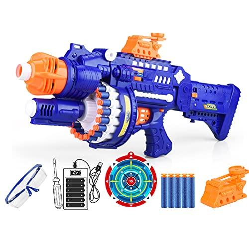 Facai Kinder Pistole Spielzeug Blaster Pistolen mit 80 Soft...