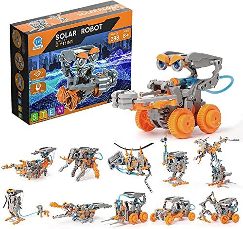 Ciro 810051762211 Solarbetriebenes Roboter-Spielzeug, Mehrfarbig
