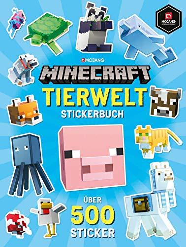 Minecraft Tierwelt Stickerbuch: Über 500 Sticker (Minecraft...