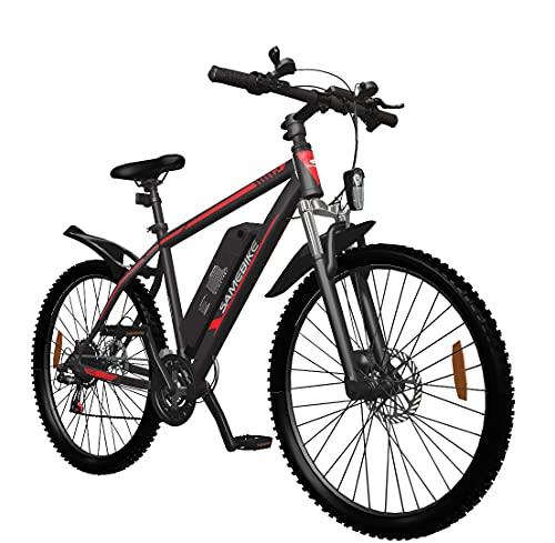 SAMEBIKE 26 Zoll Ebike Mountainbike, Elektrisches Mountainbike...