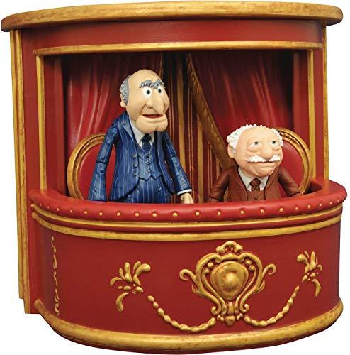 DIAMOND SELECT TOYS JUL178319 Muppets Statler und waldorfd Action...
