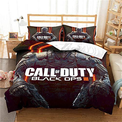 CCBZLY Call of Duty Thema Bettbezug Set, Superweiche Mikrofaser,...