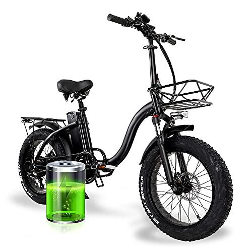 Y20 E-Bike Klapprad 20 Zoll, Upgrade Elektrofahrrad Damen mit...