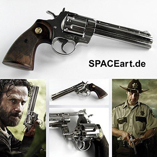 The Walking Dead: Rick Grimes Revolver, Fertig-Modell, 1/1...