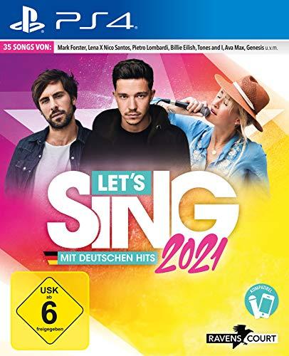 Let's Sing 2021 mit deutschen Hits (Playstation 4)