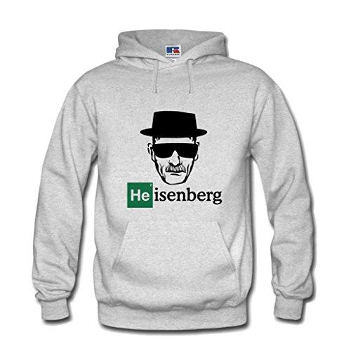 Shirtastic Kapuzenpulli Breaking Hoodie Heisenberg Mr. White Bad...