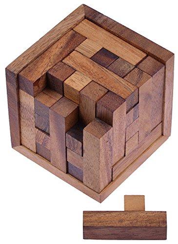 LOGOPLAY Packwürfel 125er Cube S - 3D Puzzle - Denkspiel -...