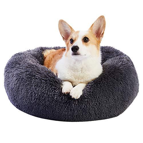 Toozey Hundebett Katzenbett Waschbar, Kuscheliges Donut Hundebett...