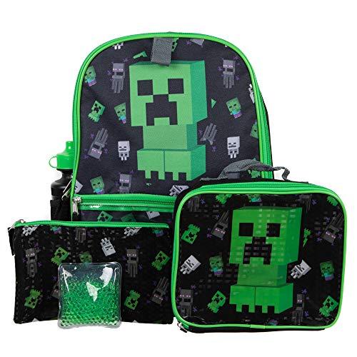 Minecraft 5-teiliges Rucksack-Set