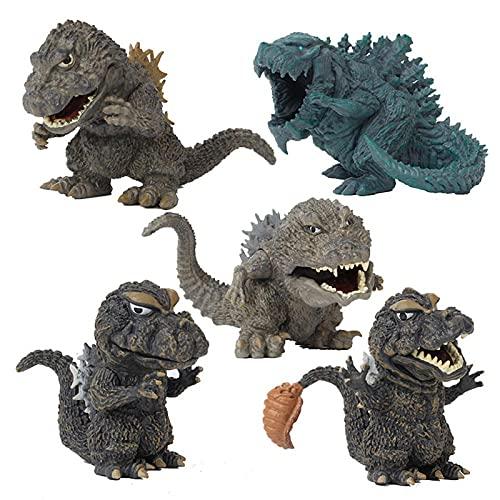 YANHAI 5 PC Godzilla Action Figure Modell Spielzeug Kinder...