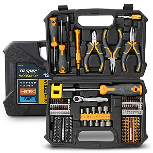 Hi-Spec Werkzeugsatz für Haus und Garage. Vollständige...