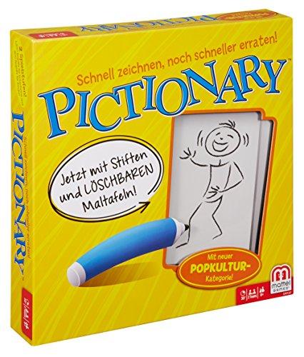 Mattel Games DRY37 Pictionary Zeichenspiel, lustiges...
